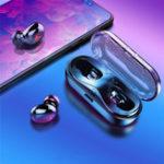 Оригинал [TrueWireless]Q13STWSBluetoothV5.0 Наушник Стерео IPX5 Водонепроницаемы Спорт с громкой связью с шумоподавлением и микрофоном HD для iPhone Xiaomi Huawei