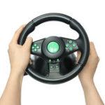 Оригинал Гоночный руль для игровой консоли XBOX 360 PS2 для ПК PS3 Вибрация Авто Рулевое колесо с педалями