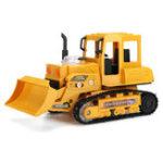 Оригинал 1/24 RC бульдозер LED Дистанционное Управление экскаватор экскаватор Авто игрушечный трактор детские подарки