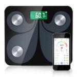 Оригинал 5 ~ 180 кг Цифровой Шкала Scientific Intelligent LCD Дисплей Bluetooth Шкала