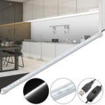 Оригинал 50 СМ SMD5630 Белый Цвет LED Жесткие Полосы Кабинета Свет Шкаф Лампа для Украшения Дома