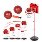 Оригинал Kid Mini Баскетбольная подставка Задняя доска и обруч C Ball & Насос Регулируемая 73-170CM