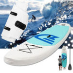 Оригинал 10 Feet Inflatable Surfboard Stand Up Paddle Board SUP Paddleboard Kayak Surf Board