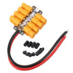 Оригинал High Current PCB Power Distribution Board 20AWG Wire for DIY RC Multicopter Drone