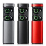 Оригинал [True Wireless] Bluetooth 5.0 TWS Сенсорные наушники Stereo HIFI с шумоподавлением IPX5 Водонепроницаемы Громкая связь Наушник с зарядкой Чехол