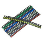 Оригинал 100шт 5 цветов 20 каждый 1206 LED диодный ассортимент SMD LED диод Набор зеленый / красный / белый / синий / желтый