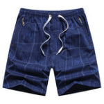 Оригинал Mens Plaid Printed Summer Swimwear