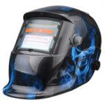 Оригинал Солнечная Силовой автоматический диммирующий сварочный шлем Welder Len Grinding Маска Светодиодный