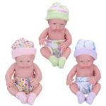 Оригинал КуклыдляноворожденныхПодарочныеигрушкиSoft Винил Силиконовый Реалистичные новорожденные дети для малышей