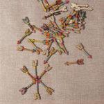 Оригинал SOFO50PCSСмешанныеШаблонДеревянныеизделия из кожи Кнопки для украшения ручной работы DIY Декор для рукоделия