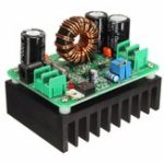 Оригинал DC 600W 10-60V to 12-80V Boost Converter Step Up Module Power Supply