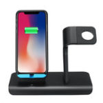 Оригинал 10 Вт 2 В 1 Qi Беспроводное Зарядное Устройство Быстрая Зарядка Телефон Часы Держатель Для iPhone Samsung Huawei Apple Watch Серия
