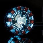 Оригинал Тони DIY дуговой реактор Лампа Набор или встроенные модели LED Flash Light Set