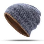 Оригинал Двусторонняя двухслойная вязаная шапка Шапка Beanie