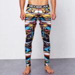 Оригинал SEOBEANМужчины,печатающиеузкоеShapwearHome Underwear Long John