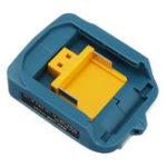 Оригинал Зарядное устройство USB адаптер конвертер для Makita ADP05 18 В 14,4 В литий-ионный Батарея BL1415 BL1430 BL1815