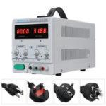 Оригинал LW-3010KDS Регулируемый источник постоянного тока 220В / 110В 0-30В 0-10А Точность 0,01 Dual Дисплей EU / UK / AU / US