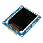 Оригинал 1.8 дюймов 128X160 ILI9163 / ST7735 TFT LCD Модуль с печатной платой Последовательный порт SPI