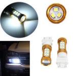 Оригинал HID White 27-3528-SMD LED Авто DRL Лампы дневного света 3156 3157 4114 4157