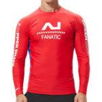 Оригинал Men's Long Sleeve Swimsuit Rashguard Surf Shirt