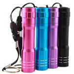 Оригинал 3W 1 Modes Flashlight Waterproof AA Battery LED Purple Light Outdoor Camping Hunting LED Lamp