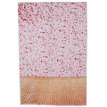 Оригинал 3x5FT винил Розовый цветок стены деревянный пол фотография фон фон студия опора
