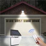 Оригинал 10W отделяемое 88 LED Солнечная PIR Motion Датчик LED Wall Лампа Аккумуляторная Водонепроницаемы Сад Двор На открытом воздухе Лампа