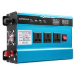 Оригинал 6000W Solar Power Inverter DC 12/24V to AC 110V LED Modified Sine Wave Converter