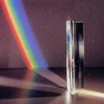 Оригинал 2 дюймов Мини Оптическое стекло Тройная треугольная призма Физический рефрактор Световой спектр
