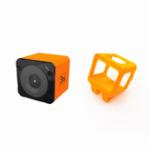 Оригинал Runcam 3S WIFI 1080p 60fps WDR 160 градусов FPV Экшн-камера + 35 градусов Наклонная базовая камера Защитная рамка Чехол Оранжевый для RC Racing Дрон