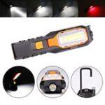Оригинал Супер Яркий УДАР LED Работа Кемпинг Свет USB Аккумуляторная Гибкая Магнитная Инспекция Лампа с Крюк