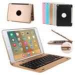 Оригинал Алюминиевый сплав Wireless Bluetooth Клавиатура Чехол Для iPad Mini 4