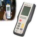Оригинал Портативная 4-канальная цифровая температура К-типа Термометр Термометр Термопара Датчик