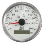 Оригинал 85 мм GPS Антенна Спидометр 300KMH 200MPH Цифровой датчик для Авто Грузовик Лодка мотоцикл