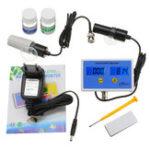 Оригинал Wattson WS-PH2771 Онлайн PH / Salinity Монитор Тестер анализатора качества воды 2 в 1 онлайн