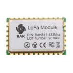 Оригинал Модуль RAR811 LoRa 433 МГц SX1276 Беспроводная связь с расширенным спектром WiFi 3000 метров Поддержка протокола LoRaWAN