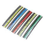 Оригинал 100шт 5 цветов 20 каждый 5730 LED диодов SMD LED диод Набор зеленый / красный / белый / синий / желтый