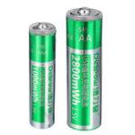 Оригинал Delipow 1.5V 2800mAh USB аккумулятор AA AAA Lipo Батарея 1 час быстрой зарядки