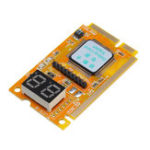 Оригинал 5pcs 3 in 1 Mini PCI/PCI-E Card LPC PC Laptop Analyzer Tester Module Diagnostic Post Test Card Board