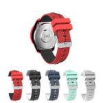 Оригинал Bakeey22mmЗаменадвухцветныечасыСтандарты для смарт-часов Xiaomi Amazfit Stratos 2 Ticwatch Pro