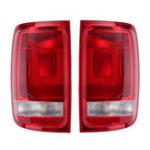 Оригинал Авто Задний левый / правый задний фонарь в сборе, тормоз Лампа без лампочек для VW Amarok 2010-2018