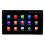 Оригинал 10 дюймов Android 8 2DIN Авто Стерео Quad Core Touch Радио WIFI GPS Nav Video MP5 Player