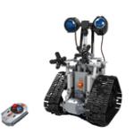 Оригинал MoFun DIY 2.4G Патруль RC Робот Блок Строительство Инфракрасного Управления Собрал Робот Игрушка