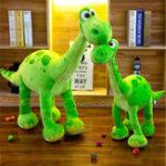 Оригинал Зеленый Динозавр Arlo Stehend Soft Мягкая плюшевая игрушка Кукла Детский Рождественский подарок