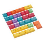 Оригинал 29PCS Профиль DSA CMYK Цвет Dyesub PBT Набор клавиш Keycap Набор CTRL WIN ALT SHIFT Keycap