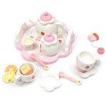 Оригинал Kid Wooden Kitchen Pretend Play Toys Tea Kit Ice Cream Cooking Puzzle Clock Gift