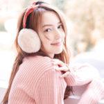Оригинал Женское Warm Soft Ветрозащитные складные противошумные вкладыши с милыми ушами