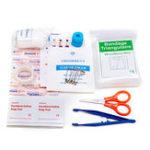 Оригинал Первая помощь в чрезвычайных ситуациях Набор 39 предметов для выживания Сумка для Авто Travel Home Emergency Коробка