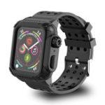 Оригинал BakeeyСиликоновыйЧасыСтандартыРемешокс полной крышкой для часов для серии Apple Watch 4 40мм / 44мм