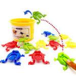 Оригинал 13штдетскиеигрушкипрыжкииграпрыгающая лягушка бункер ну вечеринку пользу образования день рождения
